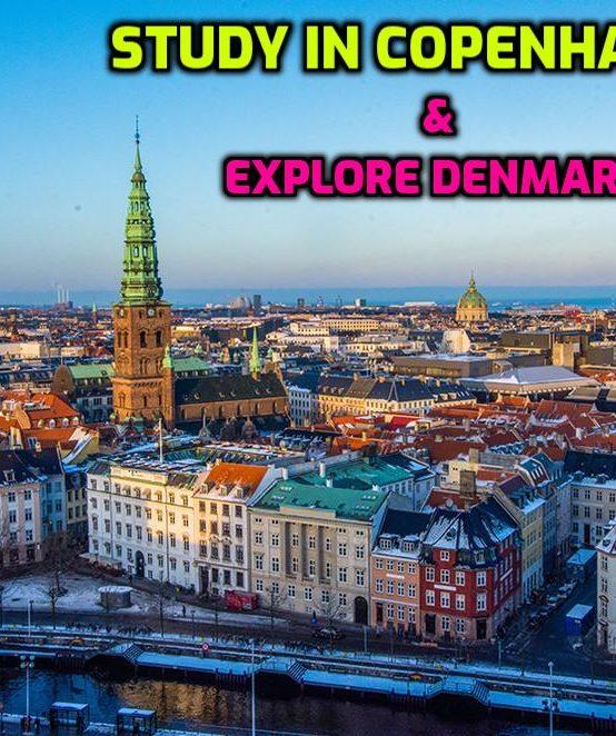 Study in the Heart of the Capital Copenhagen!